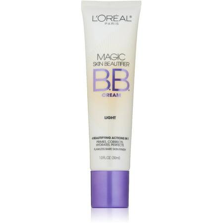 L'Oreal Paris Magic Skin Beautifier BB Cream, Light [812] 1 oz (Pack of