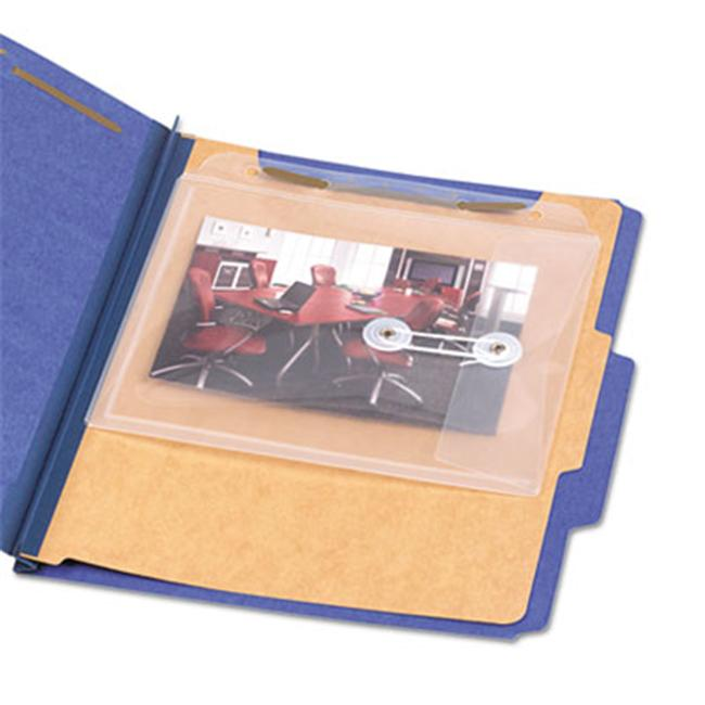 Smead 68195 Side/Top Loading Envelope- Jacket- 8 1/2 x 7- Poly- Clear- 5/Pack - image 1 of 1