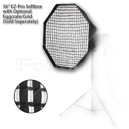- Pro Studio Solutions EZ-Pro 36in (90cm) Octagon Softbox for Studio Strobe/Flash with Soft Diffuser and Dedicated Speedring for Novatron M Series and FC Series
