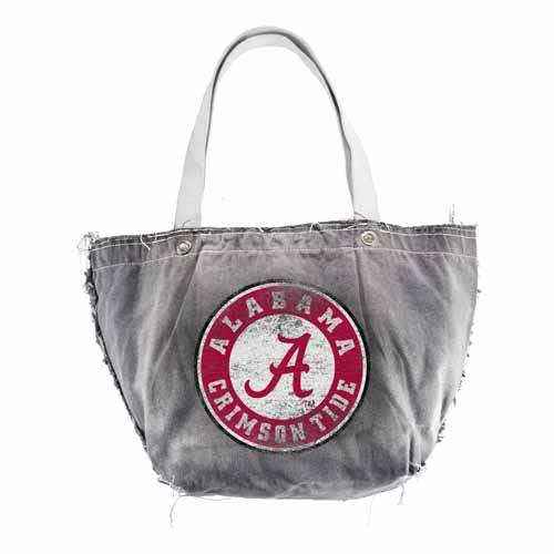 Alabama Vintage Tote (Black)