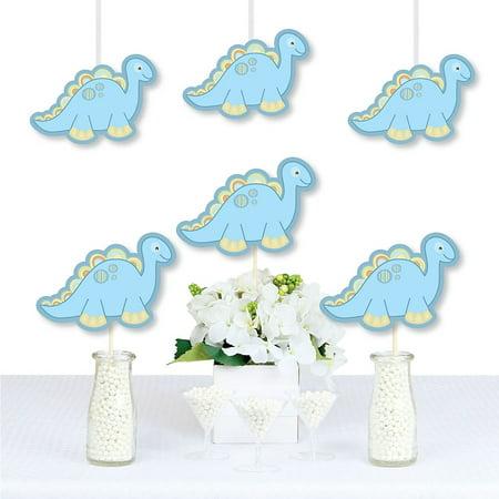 Baby Boy Dinosaur - Decorations DIY Baby Shower or Birthday Party Essentials - Set of 20 (Baby Boy Birthday Decorations)