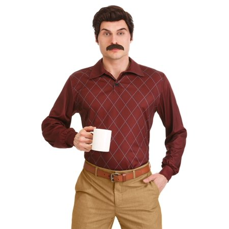 Prank Halloween Costumes (Parks and Recreation Plus Size Ron Swanson Costume for)