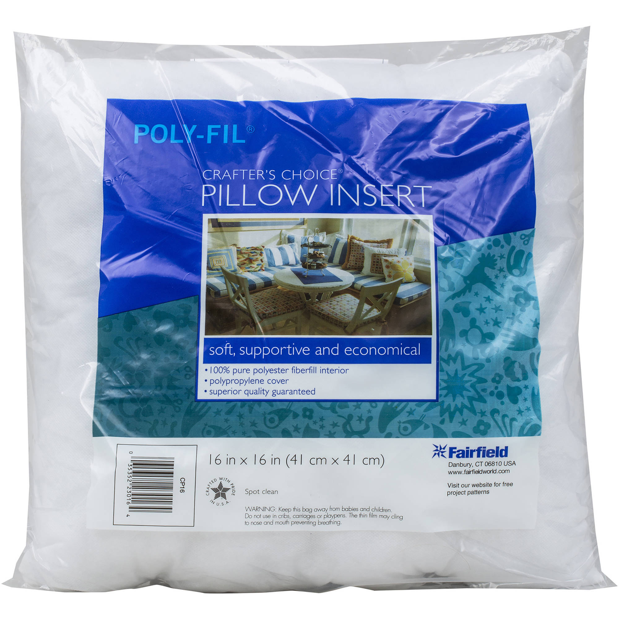 "Crafter's Choice Pillowform 16"" x 16"""