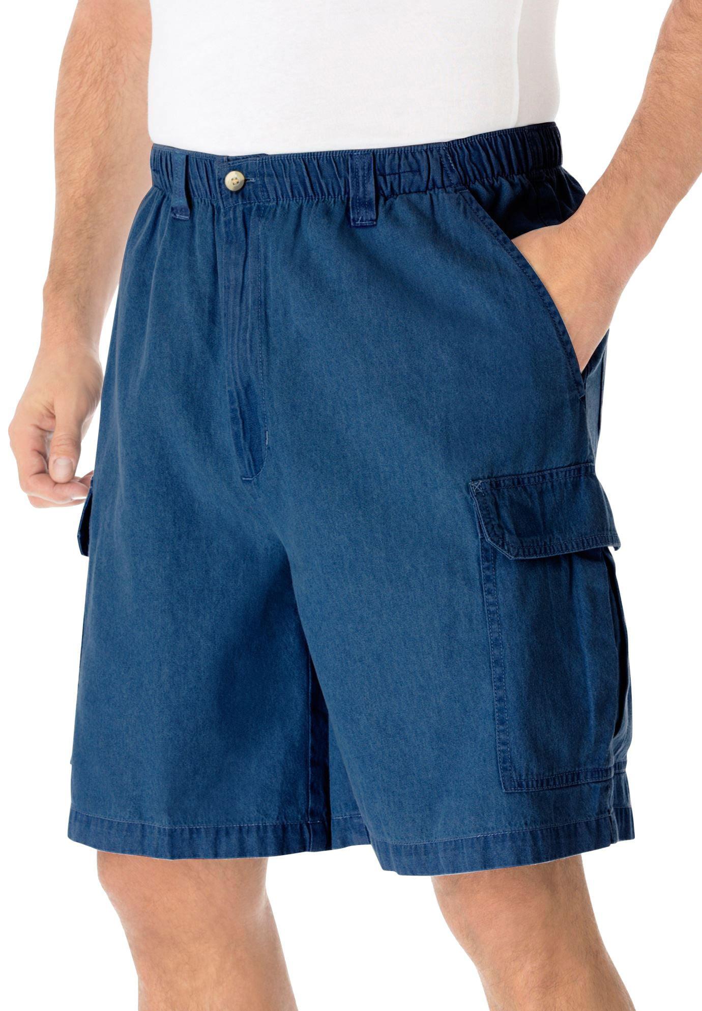 """Kingsize Men's Big & Tall Knockarounds 8"""" Cargo Shorts"""
