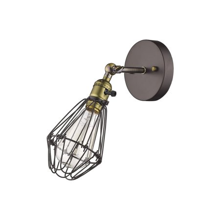 Chloe Lighting Chloe Loft/ Industrial 1-light Oil Rubbed Bronze Wall Sconce