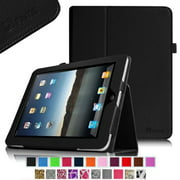 Fintie Apple iPad 1st Generation Folio Case - Slim Fit Vegan Leather Stand Cover with Stylus Holder - Black