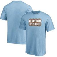 Fanatics Branded Houston Dynamo Youth Light Blue League Trend T-Shirt