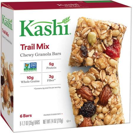 Kashi Trail Mix Chewy Granola Bars, 1 2 oz, 6 Count