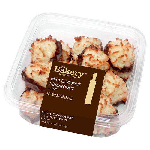 The Bakery at Walmart Dipped Mini Coconut Macaroons, 8.6 oz