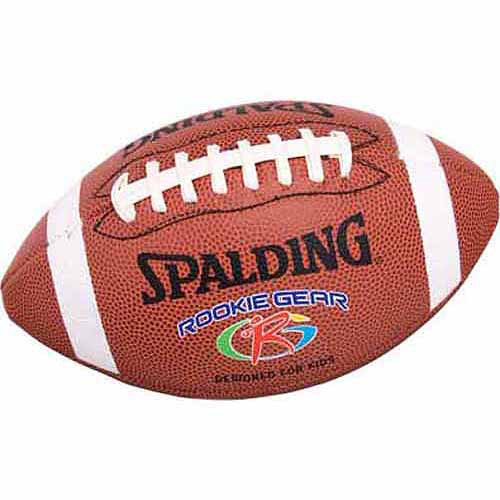 Spalding Rookie Gear Football, Brown