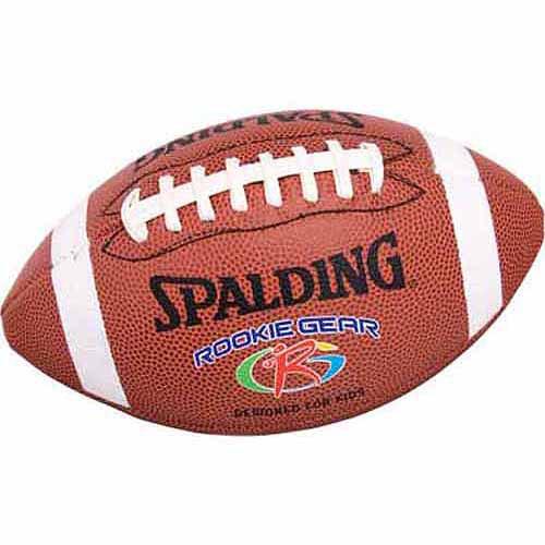 Spalding Rookie Gear Football, Brown