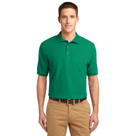 Port Authority® Silk Touch™ Polo.  K500 Kelly Green S - image 1 of 1