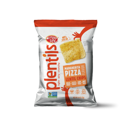Enjoy Life Vegan Margherita Pizza Lentil Chips