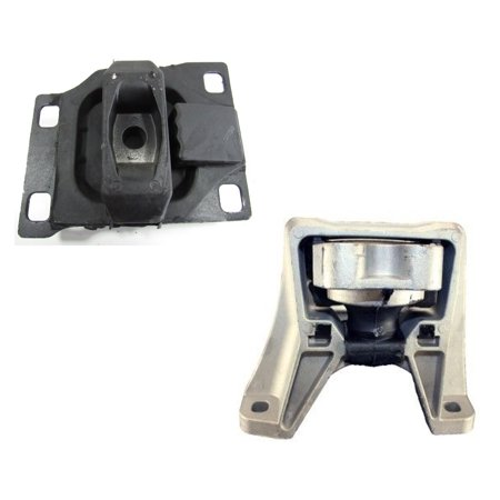 Ford Focus Engine Mount (CF Advance For 08-11 Ford Focus 2.0L FWD Engine Motor & Transmission Mount Set 2PCS 2008 2009 2010 2011 5495 2986)