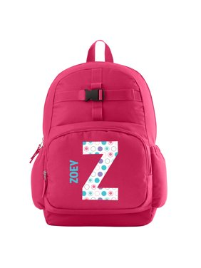 Personalized Pretty Pattern Backpack - Pink