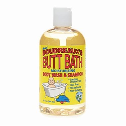 Boudreaux's Butt Gentle Cleansing Gel 13 oz (Pack of 4)