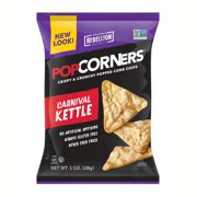 Popcorners Kettle Popped Corn Chips 1.1 oz Bags - Pack of 40