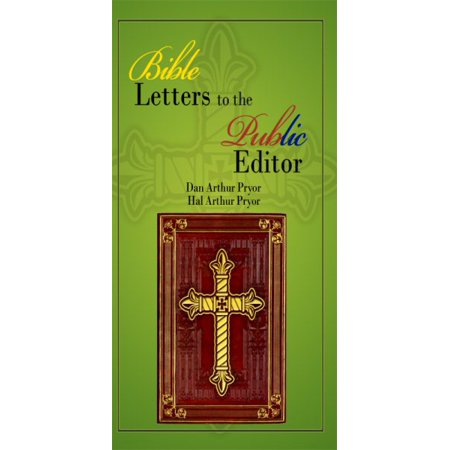 Bible Letters to the Public Editor