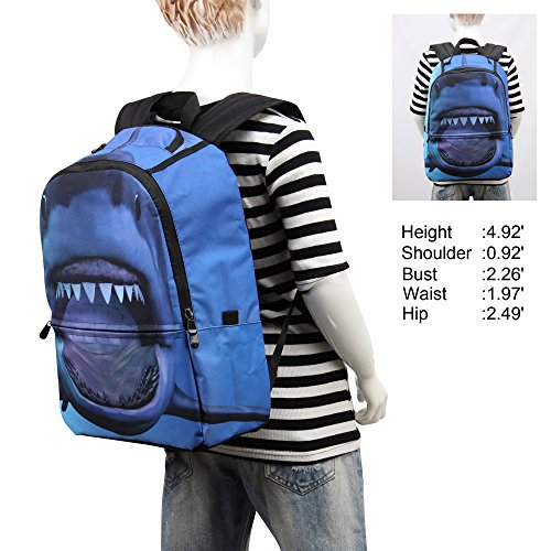 35c423fdd8e9 Hynes Eagle - Printed Kids School Backpack Cool Children Bookbag -  Walmart.com