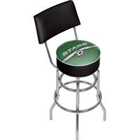 NHL Swivel Bar Stool with Back, Dallas Stars