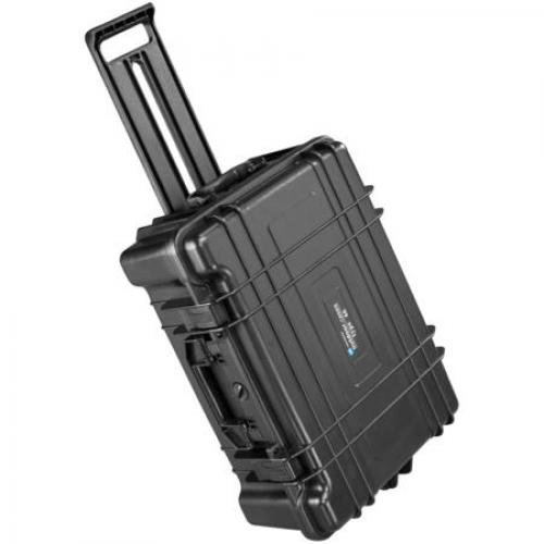 B and W 1.5622/B/SI Type 66 Black outdoor case with SI foam