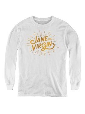 Jane The Virgin - Golden Logo - Youth Long Sleeve Shirt - Medium