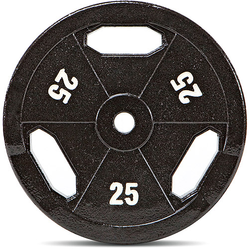Marcy 25 lb EcoWeight Standard Grip Plate: B5G-25 Sold Individually