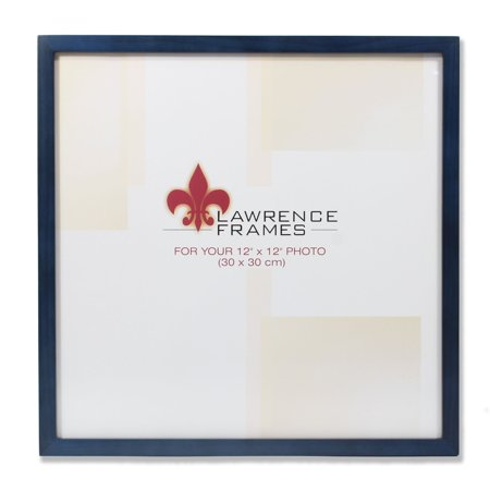 755712 Blue Wood 12x12 Picture Frame 12x12 Photo Supply Case
