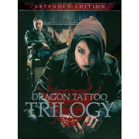 The Dragon Tattoo Trilogy  Extended Edition  Swedish