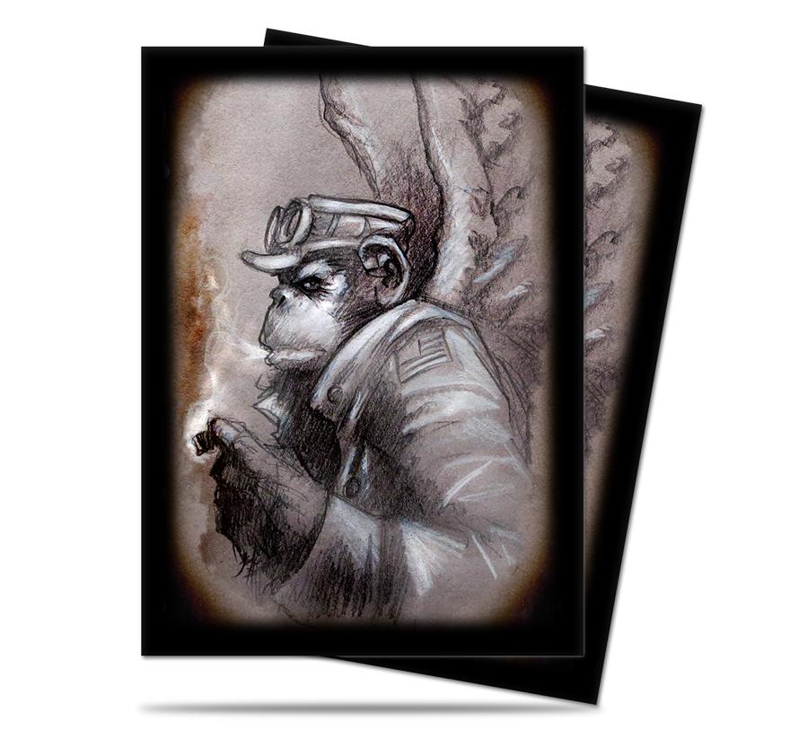 Ultra-Pro Dark Side of Oz Card Sleeves - Monkey General (50 Count, Standard)