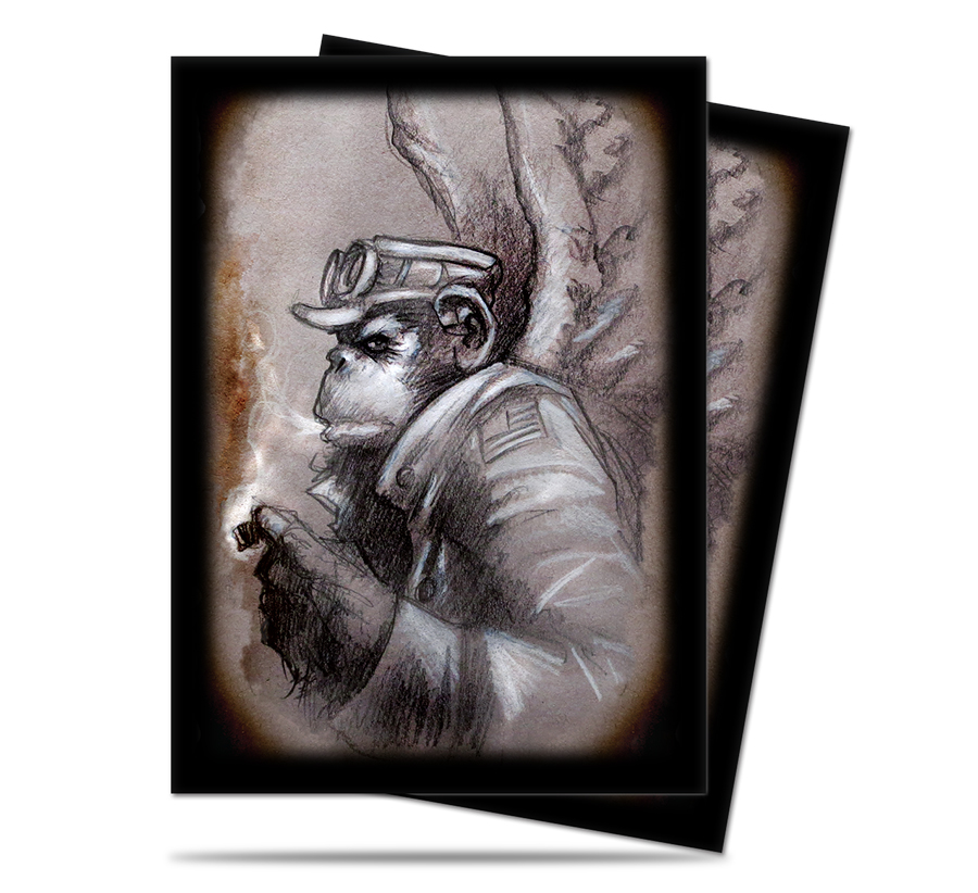 Ultra-Pro Dark Side of Oz Card Sleeves - Monkey General (50 Count, Standard)