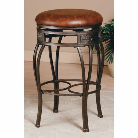 Hillsdale Montello 26-in. Backless Swivel Counter Stool - Old Steel