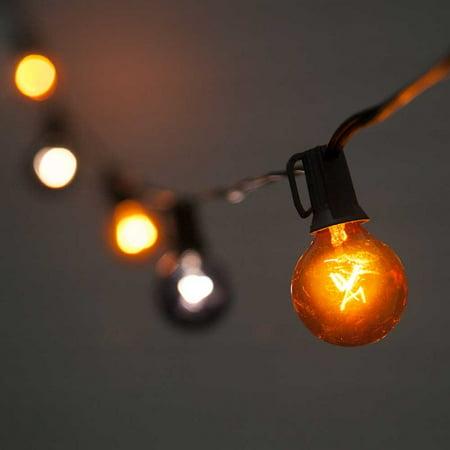 outdoor string lights globe string lights halloween 10 lights outdoor 10 feet black