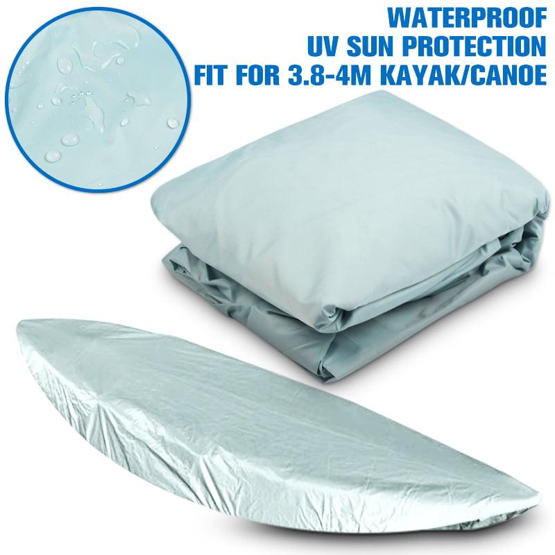 Waterproof UV Sun Protection 3.8-4m(12-13FT) Kayak Canoe Marine Boat Dust Cover Storage by