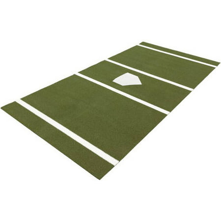 DuraPlay Baseball 6 x 12 Home Plate Mat, Green