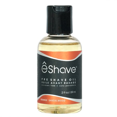 eShave Pre-Shave Oil Orange Sandalwood - 2 oz (Art Of Shaving Sandalwood Pre Shave Oil)