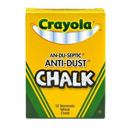 Crayola Chalk Anti-Dust White Chalk ()