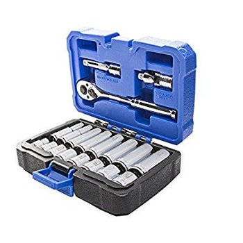 Kobalt 19-Pc. Standard (SAE) Mechanic's Tool Set with Hard Case