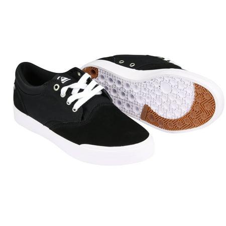 Quiksilver Mens Verant Low-Top Shoess - Black/White
