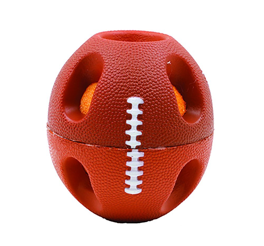"""Bashball 4"""" Football, Tear resistant ball By Perpetual Play Group by"""