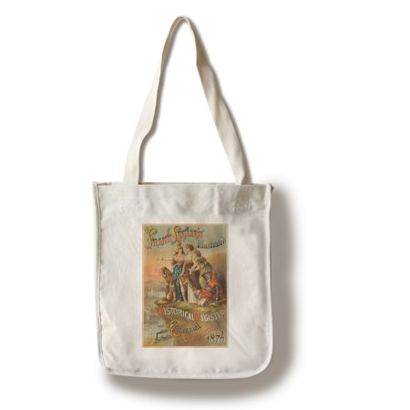 - Frank Leslie's Illustrated Historical register of the Centennial ExpositionPoster USA c. 1876 (100% Cotton Tote Bag - Reusable)