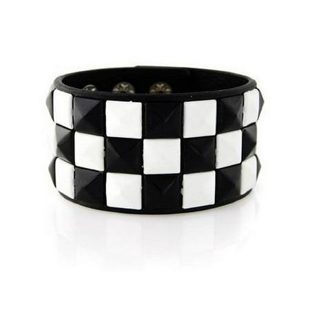 New Triple and Double Studded Punk Rock Wristband Bracelets