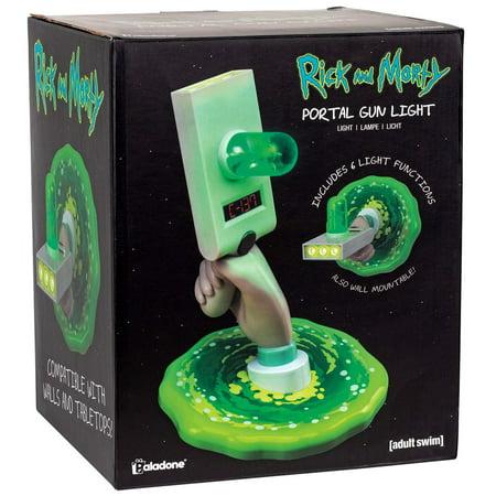 Rick & Morty Portal Gun Tabletop Light