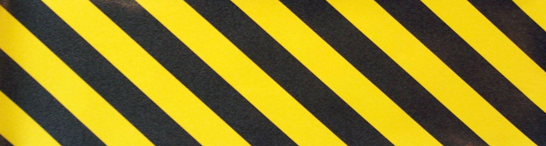 10X48in LONGBOARD SKATEBOARD GRIPTAPE Caution Pro Grip Tape by Black Diamond by