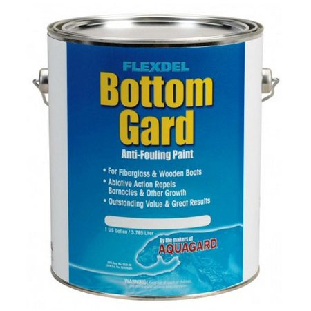 Boat Bottom Antifouling Paint (Aquagard Bottom Gard Fiberglass Anti-Fouling Paint Black 60101 GALLON)