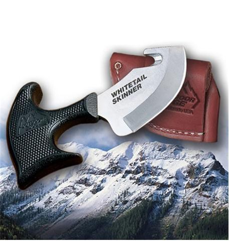 Outdoor Edge WT-10 Whitetail Skinner [leather Sheath]