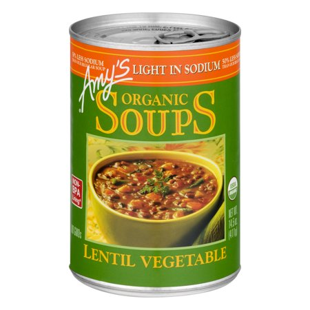 Amy S Kitchen Low Sodium Lentil Soup
