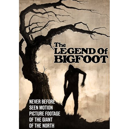 The Legend of Bigfoot (DVD) (Bigfoot Costume Movie Quality)