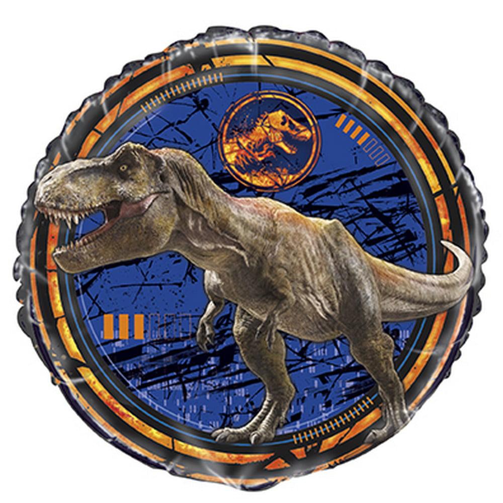 Jurassic World Fallen Kingdom Party Supplies 2 Pack Foil Balloons