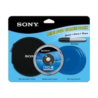 Sony 30-Minute Camcorder DVD-R, 10 Pack